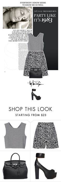 """""""Untitled #179"""" by uniqueimperfection ❤ liked on Polyvore featuring Monki, Peter Jensen, Jeffrey Campbell, Troy Lee Designs, black, grey, jeffreycampbell and peterjensen"""