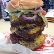The Wendy's T-Rex Burger (RIP)