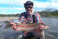 Fly Fishing for Rainbow Trout in Alaska