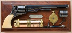 Paterson Revolvers   an ivory-gripped Texas, or Holster Model No. 5, Paterson Revolver ...