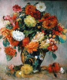 Pierre-Auguste Renoir - Vase of Flowers