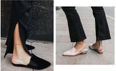 Shoes Of The Season: Flat Mules (The fashion cuisine) Mules Shoes Flat, Flats, Spring Summer 2016, Heeled Mules, Personal Style, Zara, Seasons, Heels, Shoe Trend