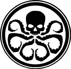 Marvel - Hydra Vinyl Decal