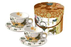Tea Garden Cappuccino Tea Time, Porcelain, Mugs, Tableware, Garden, Porcelain Ceramics, Dinnerware, Garten, Tumblers