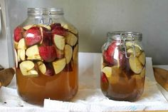 Healthiest Superfood: How to Make Homemade Apple Cider Vinegar Easily Homemade Apple Cider Vinegar, Slim Drink, Apple Cider Benefits, Best Food Ever, How To Make Homemade, Clean Recipes, Superfood, Food And Drink, 2 Step