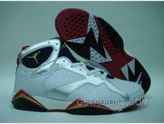 low priced 3a638 2b981 Air Jordan Retro 7 Olympic White Metallic Gold Midnight Navy Tru Livraison  Gratuite, Price   67.00 - Adidas Shoes,Adidas Nmd,Superstar,Originals