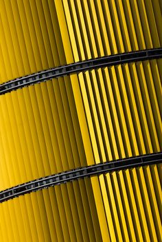 yellow shutters on a building in Berlin, Germany (2013) photo by Chris Neukom