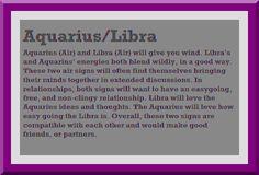 Why do aquarius love libra