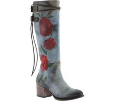 Women's FREEBIRD by Steven Cyrus Knee High Boot - Denim Multi Leather with FREE Shipping & Exchanges. Take your look up a notch wearing the FREEBIRD by Steven Cyrus Knee High Boot. The side rose