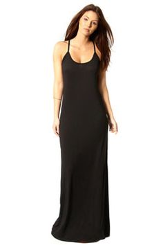 Hayley Strappy Scoop Neck Maxi Dress at boohoo.com