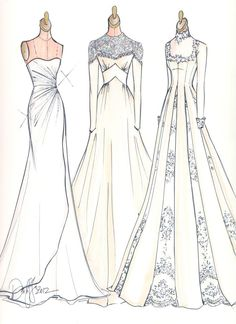Fashion design sketches body wedding dresses Ideas for 2019 Fashion Illustration Sketches, Illustration Mode, Fashion Sketches, Design Illustrations, Moda Fashion, Trendy Fashion, Fashion Art, Classy Fashion, Fashion Shoes