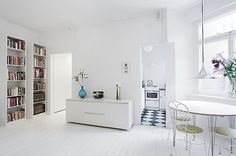 The white clean and elegant interior design pictures above is used allow the decoration of your  to be more outstanding.