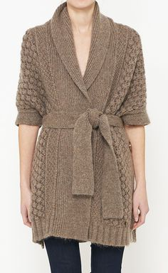 See By Chloé Brown Cardigan | VAUNTE... LIKE!