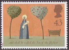 Christmas 43p Stamp (1996) The Nativity