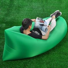 Nanometer Nylon Ultralight Inflatable Lazy Sofa-28.96 and Free Shipping| GearBest.com
