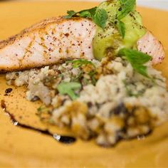 The combination of avocado and salmon is deeply satisfying and full of good-for-you fats and vitamins. Here, the grilled salmon with avocado butter ...