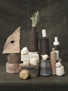 Ceramics by Paula Greif and Natsuko Uchino