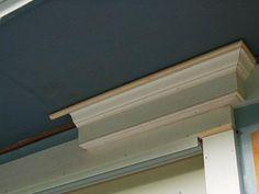Cornice detail - door header