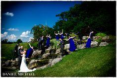 Aston Oaks Water Fountain Wedding