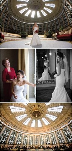 Beautiful pictures from a wedding reception at the West Baden Springs Hotel. Hopefully where I'll be having my wedding and reception. West Baden Hotel, West Baden Springs Hotel, Wedding Poses, Wedding Ideas, Wedding Dresses, Hotel Wedding, Wedding Reception, French Lick Resort, My Little Girl