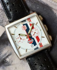 Discover a large selection of TAG Heuer Monaco watches on - the worldwide marketplace for luxury watches. Compare all TAG Heuer Monaco watches ✓ Buy safely & securely ✓ Burberry Men, Gucci Men, Tag Heuer Glasses, Tag Heuer Automatic, Mens Fashion Wear, Men's Fashion, Tag Heuer Monaco, Omega Speedmaster, Watch Model