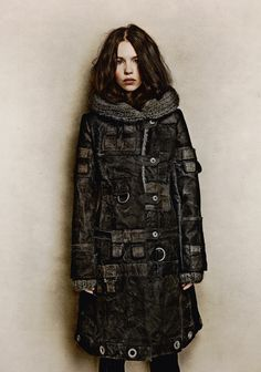 Coat Louis Long (MAYER Peace collection FW 2012/2013)