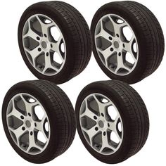 """18"""" Alloy Wheels 245 Used Tyres ST Ford Transit Load Van Rated 1250 Kg Gunmetal **save on Tyres 01392 20 30 51 **"""