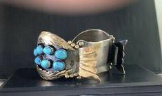 Zuni Jewelry, Gold Watch, Watch Bands, Native American, Im Not Perfect, Flaws, Artisan, Turquoise, Watches