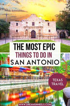 Visit San Antonio, Downtown San Antonio, San Antonio Food, Texas Travel, Travel Usa, Travel Tips, San Antonio Texas Riverwalk, San Antonio Things To Do, San Antonio Vacation