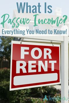 Want to know more about passive income? Check out the basics here at LendEDU!
