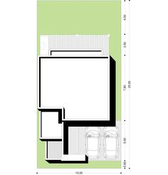 Casa Verbenas   Proyecto ya ! Floor Plans, How To Plan, Country, Architecture, Art, Two Story Houses, Studio, Little Cottages, Dibujo