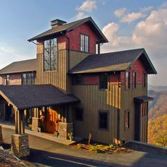 Blowing Rock - contemporary - exterior - other metro - Samsel Architects