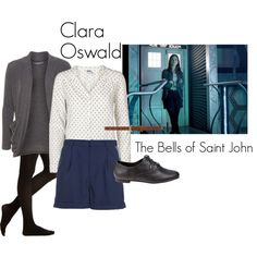 Clara Oswald - The Bells of Saint John, Outfit #2 - Polyvore