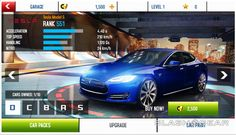 Model S featured in Asphalt 8 game for iPhone/iPad  http://teslaccessories.com