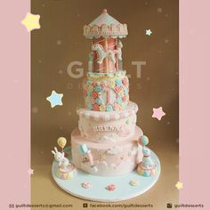 Pretty Carousel by Guilt Desserts
