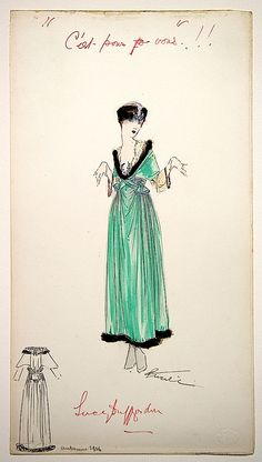 1916 Lucile sketch From blogs.library.ucla.edu:special:2012:04:13:remember-me-lucy-duff-gordon-and-titanic: