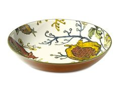 Pomegranate Serving Bowl #williamssonoma - I had this and Harry knocked it off the table.  I would love to have it again.