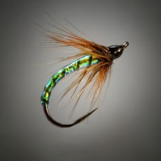 Fly Fish Food -- Fly Tying and Fly Fishing : Swinging Midge Style: The Opal Swinger
