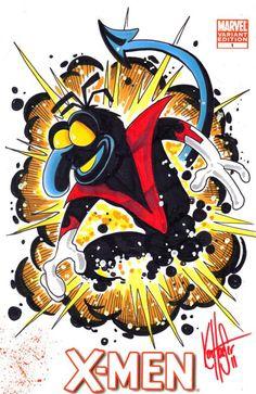 Muppet X-Men