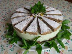 La torta ricotta e pistacchio...il delirio...