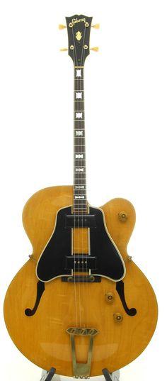 Vintage Gibson ETG-350 Tenor Jazz Guitar in Natural with Original Lifton Case #GibsonKalamazooMichigan