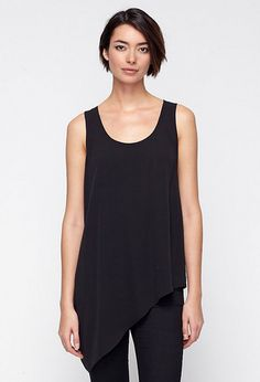 Free standard shipping on all Continental US orders. Shop women's casual clothing that effortlessly combines timeless, elegant lines with eco-friendly fabrics from EILEEN FISHER. Future Clothes, Warm Weather Outfits, Asymmetrical Tops, Elegant Outfit, Fall Trends, Eileen Fisher, Spring Summer Fashion, Spring 2014, Plus Size Outfits