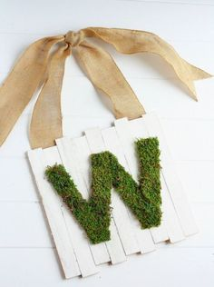 Monogram Moss Pallet