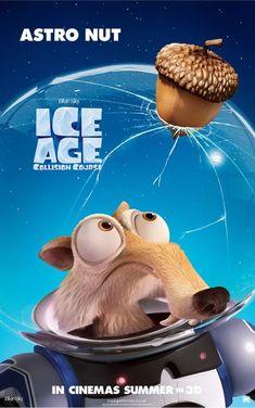'A Era do Gelo : O Big Bang', a épica perseguição de Scrat pela noz..