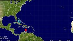 Huracán Matthew aumenta a categoría 2