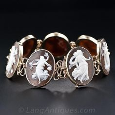 Seven Muses Cameo Bracelet - 3