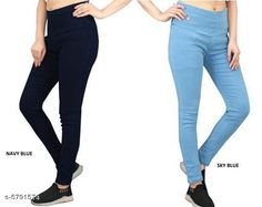 Checkout this latest Jeggings Product Name: *Elegant Fashionista Women Jeggings* Sizes:  28 (Waist Size: 28 in, Length Size: 38 in, Hip Size: 32 in)  30 (Waist Size: 30 in, Length Size: 38 in, Hip Size: 34 in)  32 (Waist Size: 32 in, Length Size: 38 in, Hip Size: 36 in)  38 (Waist Size: 38 in, Length Size: 38 in, Hip Size: 42 in)  Country of Origin: India Easy Returns Available In Case Of Any Issue   Catalog Rating: ★4 (365)  Catalog Name: Elegant Fashionista Women Jeggings CatalogID_872087 C79-SC1033 Code: 718-5791574-7422