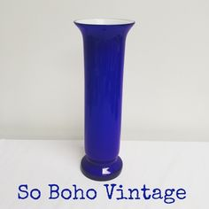 #sobohovintage #midcenturyglassware #casedglass #blueglass #forsale www.sobohovintage.co.uk @vintagelynz on Instagram