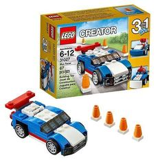 LEGO Creator 31027 Blue Racer Brand New Ships Free #Lego