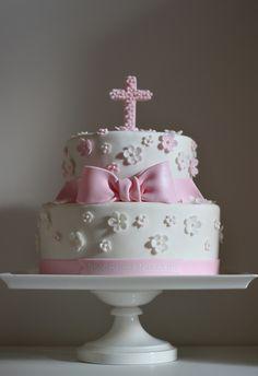 christening or baptism cake
